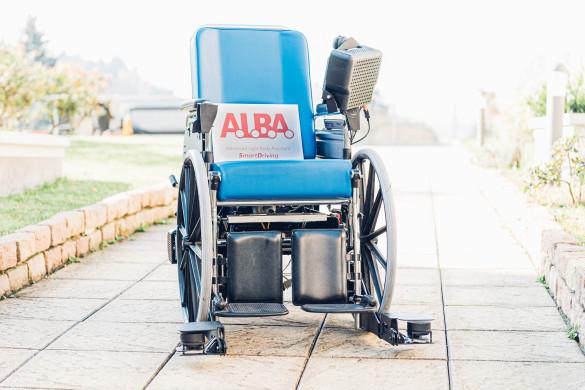 Al via la sperimentazione al San Camillo di Torino di ALBA, la nuova carrozzina a guida autonoma