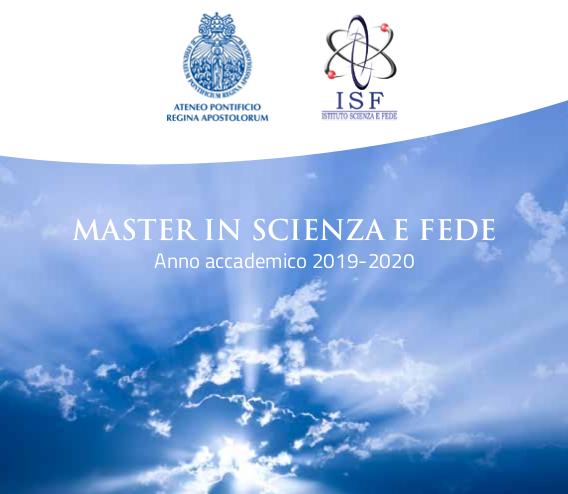 Master in Scienza e Fede a.a. 2019 -2020