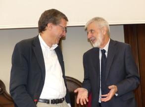 da sinistra Francesco OGNIBENE e Piero BIANUCCI  ©Bioetica News Torino