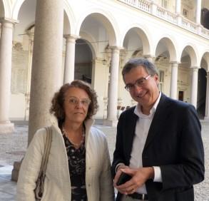Mariella LOMBARDI RICCI e,Francesco OGNIBENE  ©Bioetica News Torino