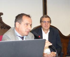 Tavola rotonda: da sinistra   A fianco Francesco Ognibene direttore Avvenire - F.BNT