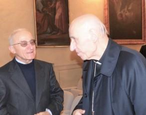 Rossino e cardinale Poletto convegno Economia delle relazioni 2019 F. BNT