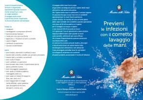 Prevenzioni infezioni lavaggio mani opuscolo Ministero Salute 2020 A