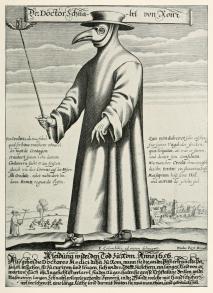 Untori eroi e martiri figura 1 Medico della peste_Marchisio