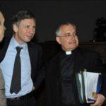 Enrico Larghero e mons. Augusto Chendi