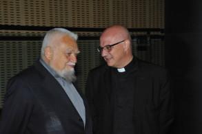 Padre Enzo Bianchi e don Carmine Arice, convegno Santo Volto 22-24 maggio 2015