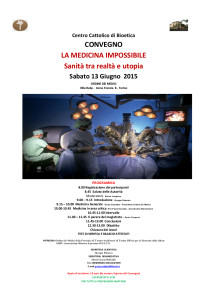 Medicina impossibile _convegno CCB2015_13 giugno-loc