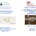 L'opposizione alla dimissione e al trasferimento dei pazienti_convegno 13 nov2015, San Camillo, programma