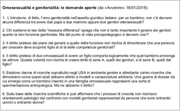 Tabella 3 Fassino - Gender e Psicologia - Dossier settembre 2016
