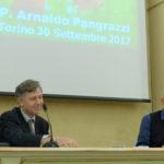 prof. Enrico Larghero e Padre Arnaldo Pangrazzi Torino foto 3