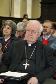 Mons. Cesare Nosiglia, Arcivescovo  di Torino al Convegno Dat e obiezione di coscienza ©F. A. D'Angelo